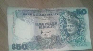 Old money 50 ringgits