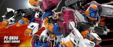 Transformers PE DX06 Beast Gorira (reissue)