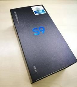 New Samsung S9-Midnight Black