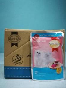 SmartHeart Pouch Kitten Wet Cat Food 85g Tuna