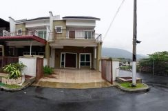 New House Double Storey End Lot, Tmn Flora 2, Senawang