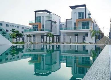 Keyangan Villas Klebang, Luxury 3 Storeys Bungalow House