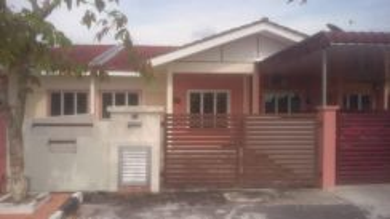 Rumah Teres Setingkat Tmn Halaman Indah, Jawi- 245k