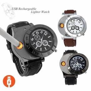 Jam Lighter Watch Rechargeable KL