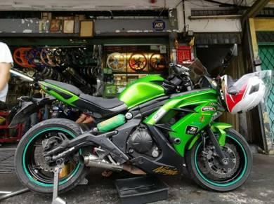 2013 Kawasaki ER-6f Untuk dijual
