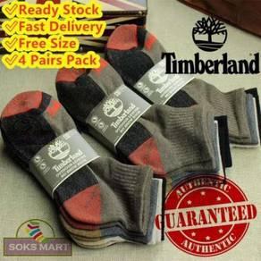 Authentic Timberland Crew Socks Unisex Stokin Tim