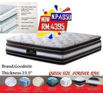 Queen size mattress (M- FOREVER LOVE) 23/7