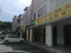 Aman perdana double storey shop lot
