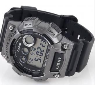 Watch- Casio Vibrate Alarm W735-1A3 -ORIGINAL