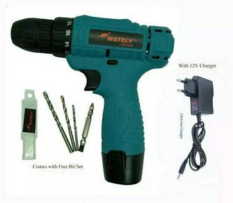 WATELY Cordless Battery Drill Model WE-1000