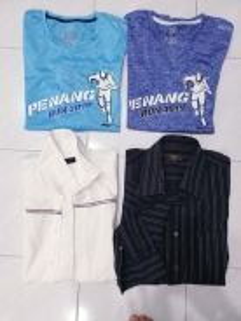 Sport shirt and long sleeve