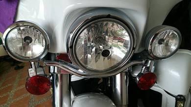 Harley Davidson original headlamp & fog lamp