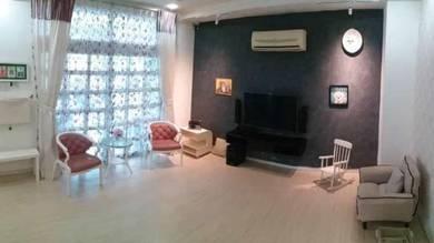 Fully renovation for rent at taman seri juru