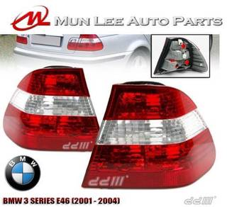 BMW E46 3 Series Rear Tail Lamp New