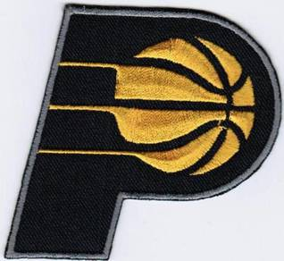 NBA Indiana Pacers National Basketball Badge Patch