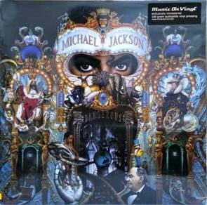 Michael Jackson - Dangerous 2010 LP