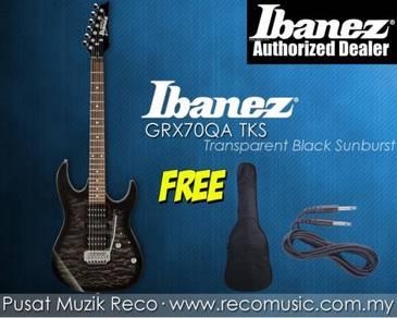New Ibanez Electric Guitar GRX70QA TKS