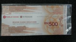 Voucher perctian di swiss garden resort