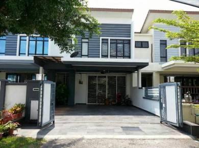 Double Storey Terrace Bukit Saujana Utama, Saujana Utama, Sg Buloh