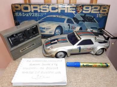PORSCHE 928 Martini Racing Radio Control Vintage