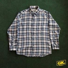 Kemeja Uniqlo Chekered Flannel Shirt