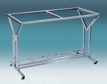 Stainless Steel Table Base, V Model