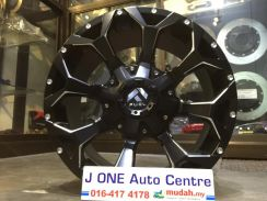 Fuel 01 wheels 18inc triton dmax ranger hilux