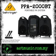 Behringer PPA 2000BT Portable PA System with free