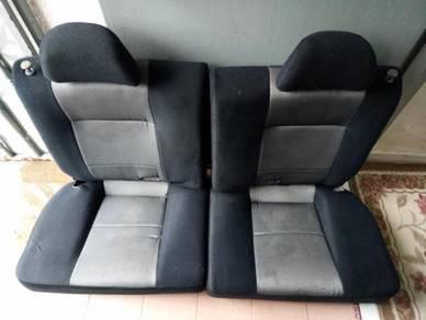 Seat recaro belakang satria gti mivec uk spec