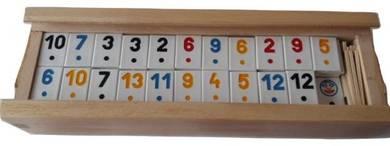 New classical rummikub family logical game