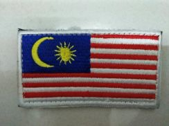 Military_Tactical Velcro Patch - Malaysian Flag