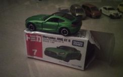 Tomica mercedes AMG GTR no7 car model diecast