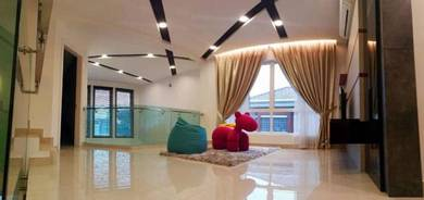 Sri Petaling New Semi D with LIFT Furnished 7R7B
