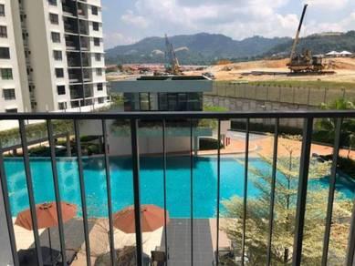 Corner unit near lift lower ground mutiara heights condominium kajang