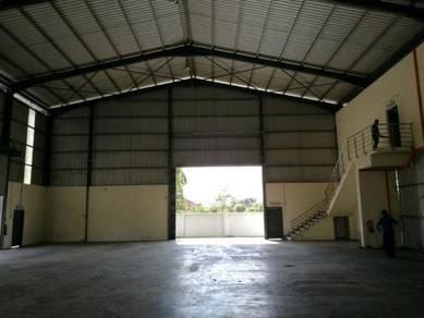 Kundang , rawang , detach factory corner unit for sale