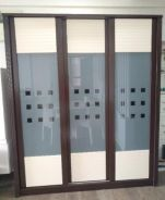 Wooden Closet wardrobe sliding cabinet kebinet