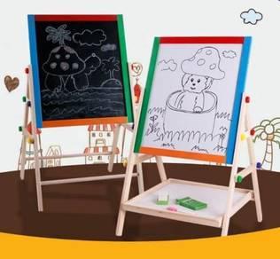 Kids Double Sided Sturdy Study Drawing Board