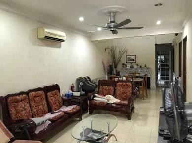 Desa jaya single storey kepong landed fully renovated extended 4 rooms