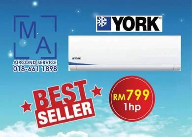 Best offer 1hp York aircond