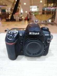 Nikon d200 body (sc 9k only) 98% new