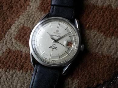 Vintage Titoni Space Star watch