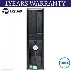 Dell optiplex 380 dt pentium desktop (refurbished)