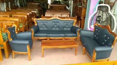 Sofa jati satu set