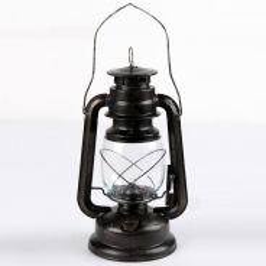 Vintage Oil Lamp Black