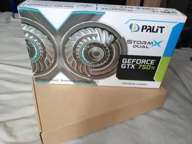 Palit storm dual gtx 750ti