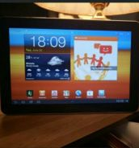 Samsung Galaxy Tab 10.1 (GT-P7500) 16GB and Keyboa