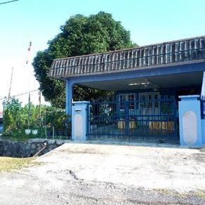 Rumah teres 1 tingkat taman malim