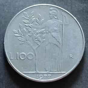 Repvblica Italiana 100 Lire 1977
