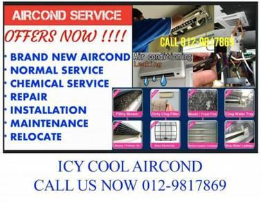 ICY COOL Bukit Jalil KL Selangor Aircond Murah