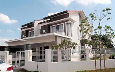 [Corner 15ft Extra Land] 2 Storey House 25x75 Nilai Impian [Full Loan]